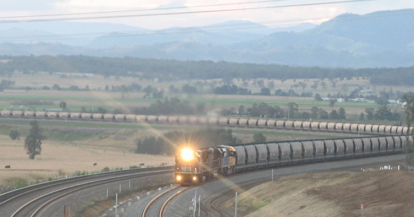 Coal Train Photo Hunter Valley Coal Chain Coordinator