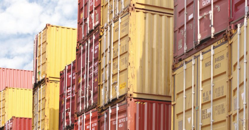 Shipping containers. Photo: Shutterstock