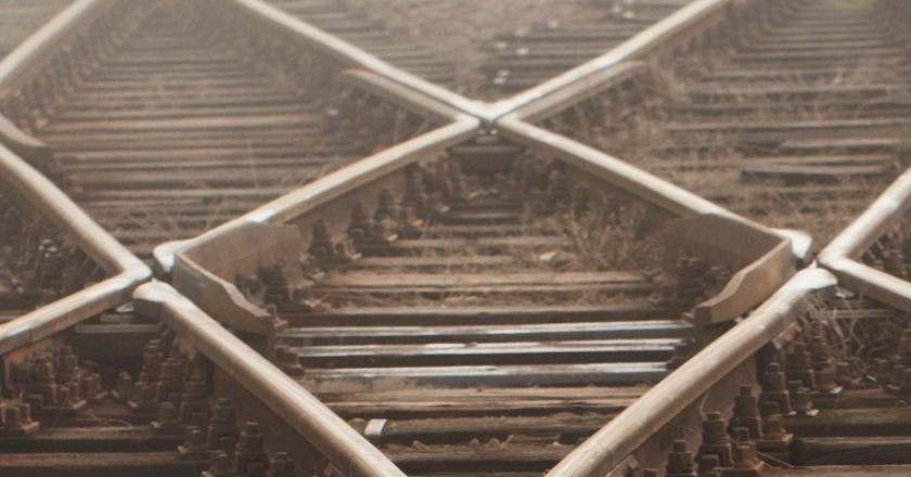 Rail track. Photo: Shutterstock