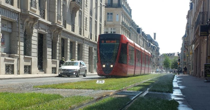 Reims tramway. Photo: Oliver Probert