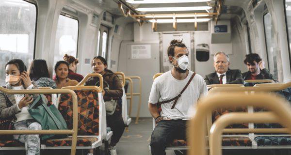 face masks public transport