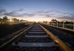 Werribee rail bridge