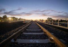 Werribee rail bridge