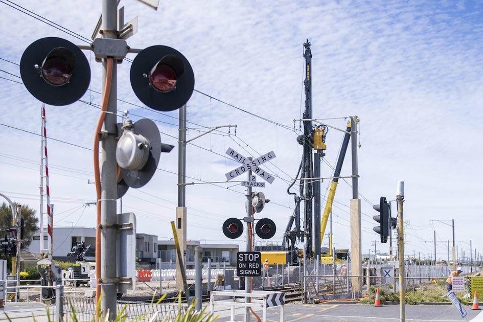 Signalling equipment on the Frankston Line